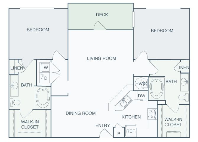 Perimeter Gardens at Georgetown - Crossroads - 2 bedroom - 2 bath