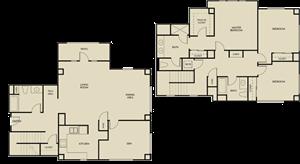 3x3 Plan B Townhome
