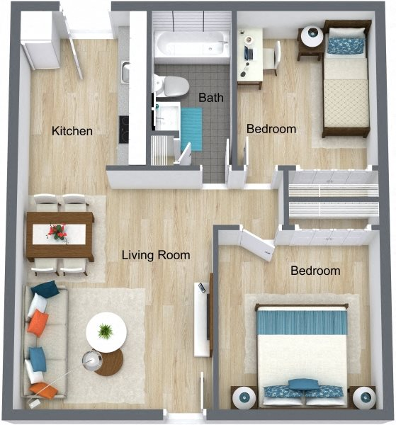 Timber Trace Apartments: Floor Plans Of Timber Trace Apts In Tampa, FL