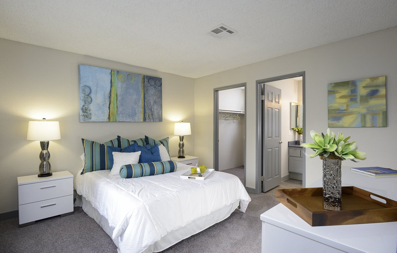 Spacious Bedroom With Adequate Storage, at The Bristol at Sunset, Henderson, 89014