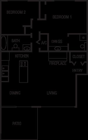 Floorplan B Floor Plan 2