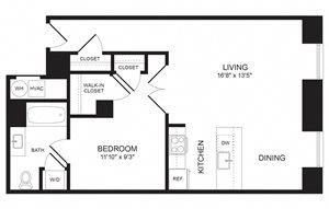 1 Bedroom - A16