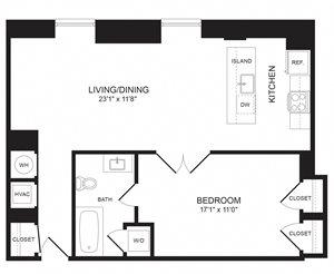 1 Bedroom - A10