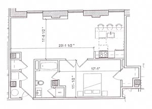 1 Bedroom - A25