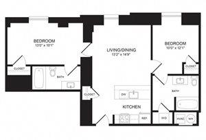 2 Bedroom - B02