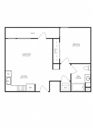 One Bedroom A1