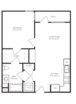 One Bedroom A5