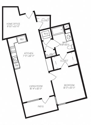 One Bedroom A8