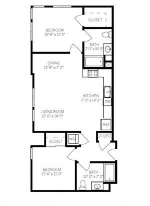 Two Bedroom B4