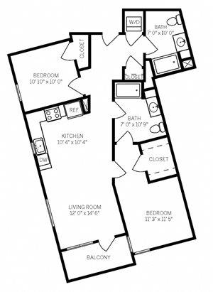 Two Bedroom B5