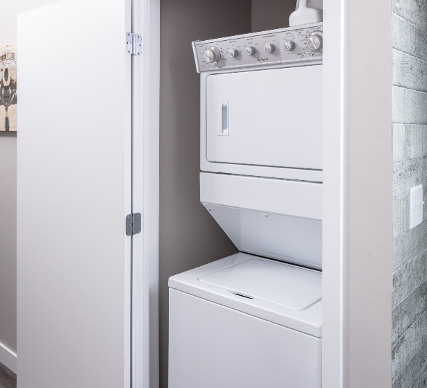 In-Home Washer and Dryer at Flux Apartments Des Moines IA
