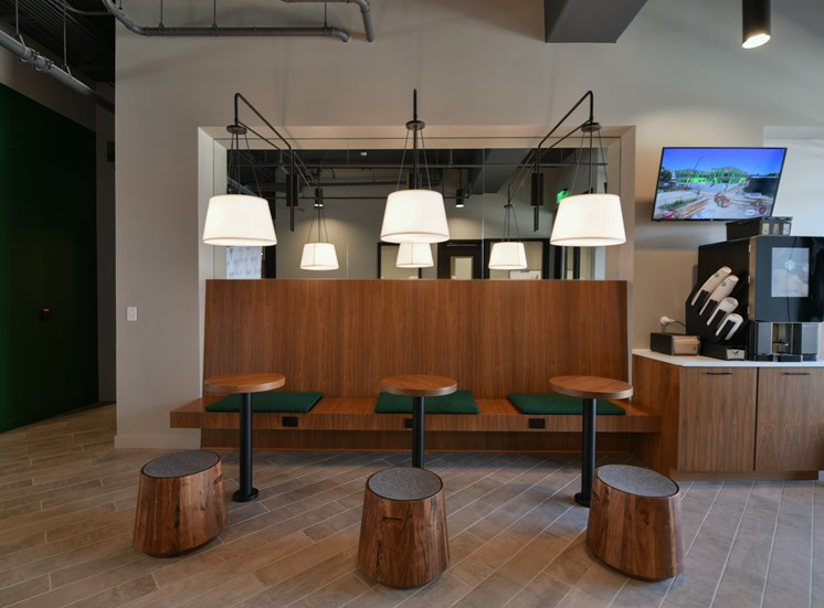 Starbucks Coffee Bar at Flux Apartments Des Moines IA