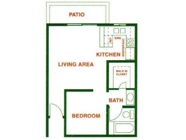 Arroyo ( Junior ) floor plan.
