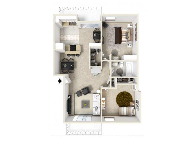 C floor plan