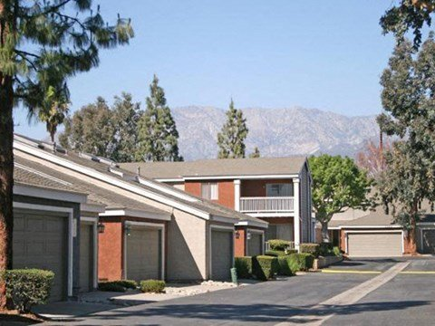 Exterior Buildings l Rancho Vista Apartments for rent in Ontario, CA