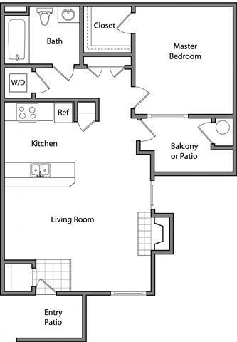 the The Vista floor plan.