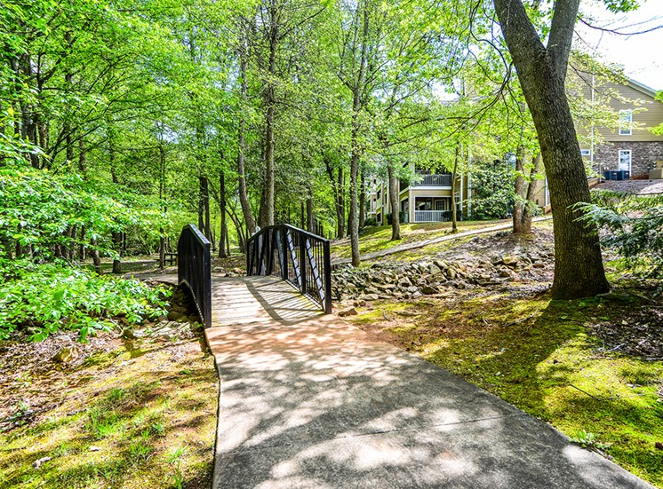 Take a stroll alongside the creek or have a picnic on our Nature Trail