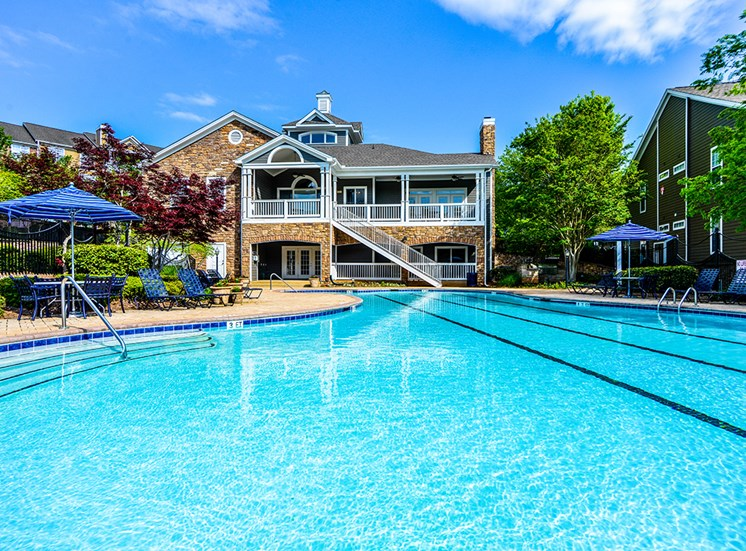 Take a dip in our sparkling swimming pool at Thornblade Park, Greer, SC, 29650