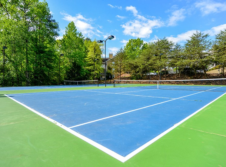 Bring your racquet - we have tennis!