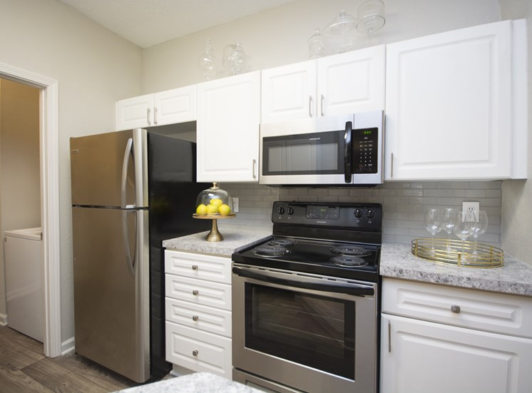All Electric Kitchen at Thornblade Park, Greer, South Carolina