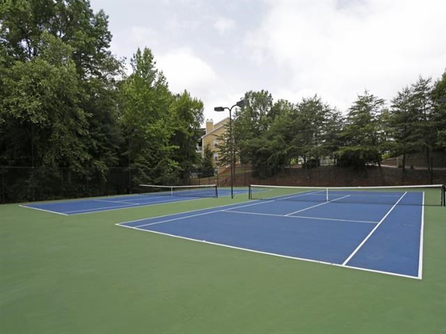 Synthetic Tennis Courts at Thornblade Park, Greer, 29650