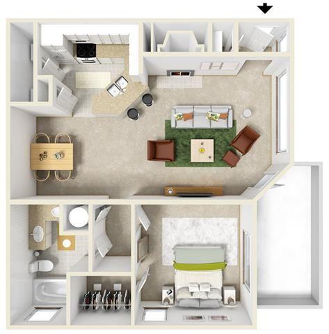 Milan Floor Plan at Thornblade Park, Greer, SC