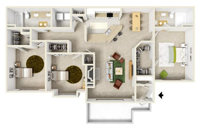 Tuscany Floor Plan 5