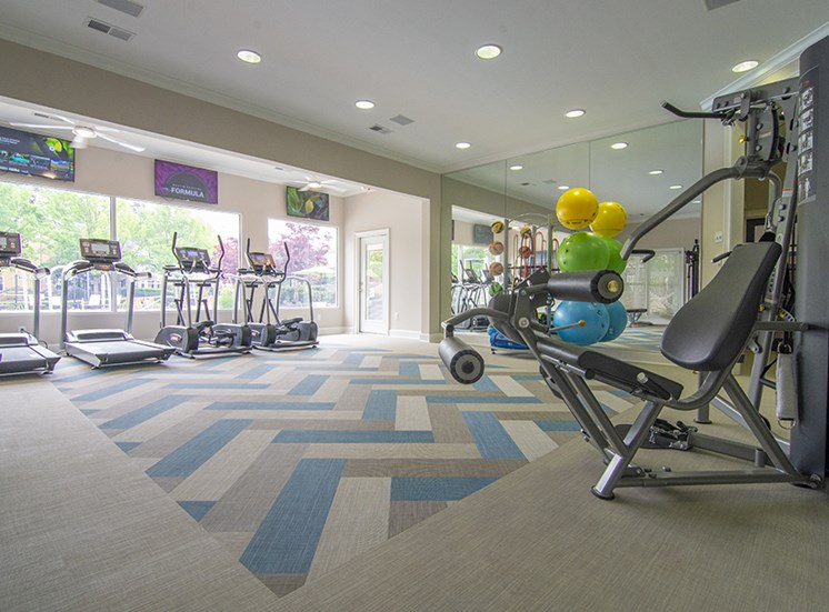 24 hour executive style fitness center at Thornblade Park, Greer, SC, 29650