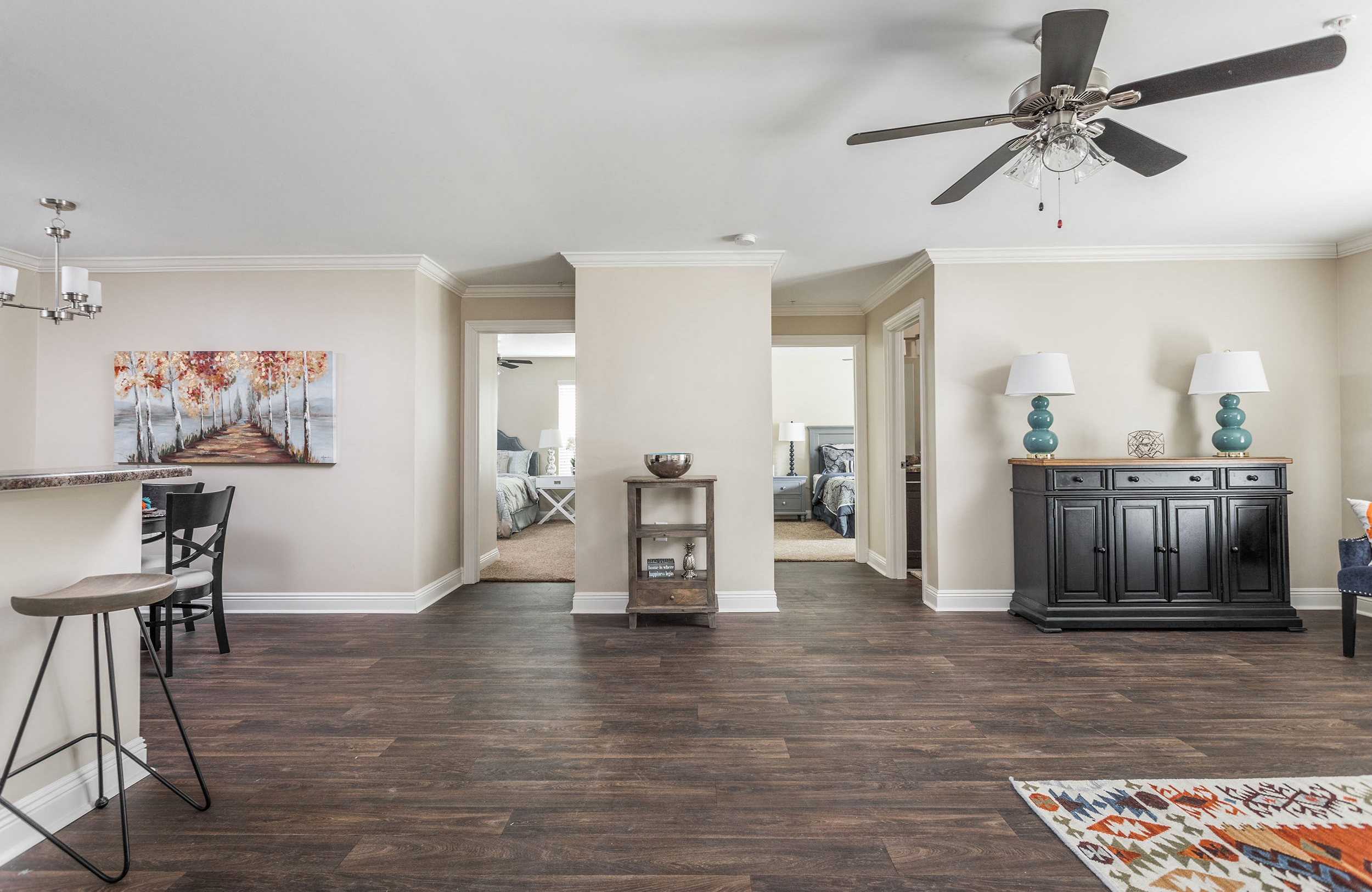 Open Floor Plan - Live Oak Trace Apartments