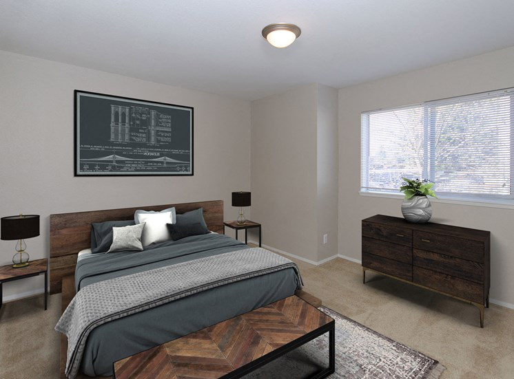Lynnwood WA Luxury Apartments-Martha Lake Apartments Bedroom