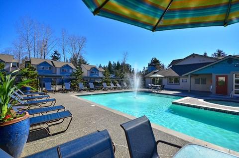 Lynnwood Apartments for Rent-Martha Lake Apartments Pool