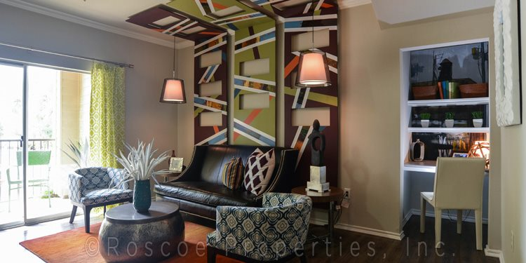 living room - apartments in pflugerville