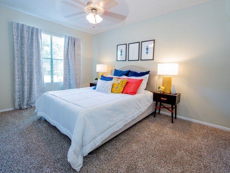 Emberwood Apartments Lafayette, LA Master Bedroom Interior