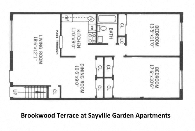 Two Bedroom (Downstairs  Inside Corner Unit)