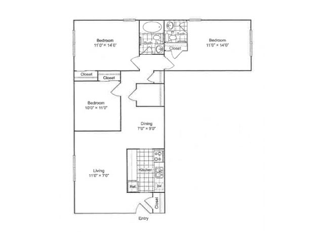 The Duke Floor Plan 3
