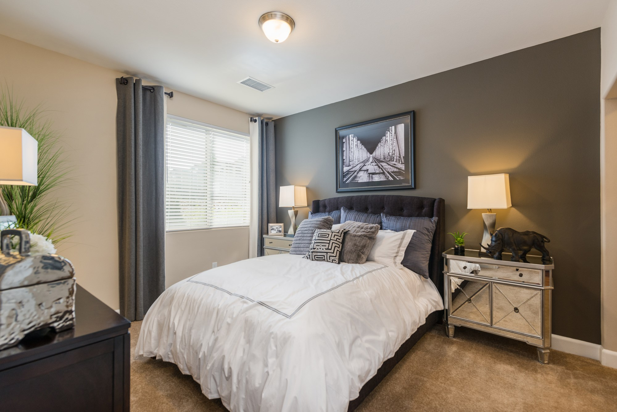 Bedroom at Estate at Woodmen Ridge Apartments in Colorado Springs, CO