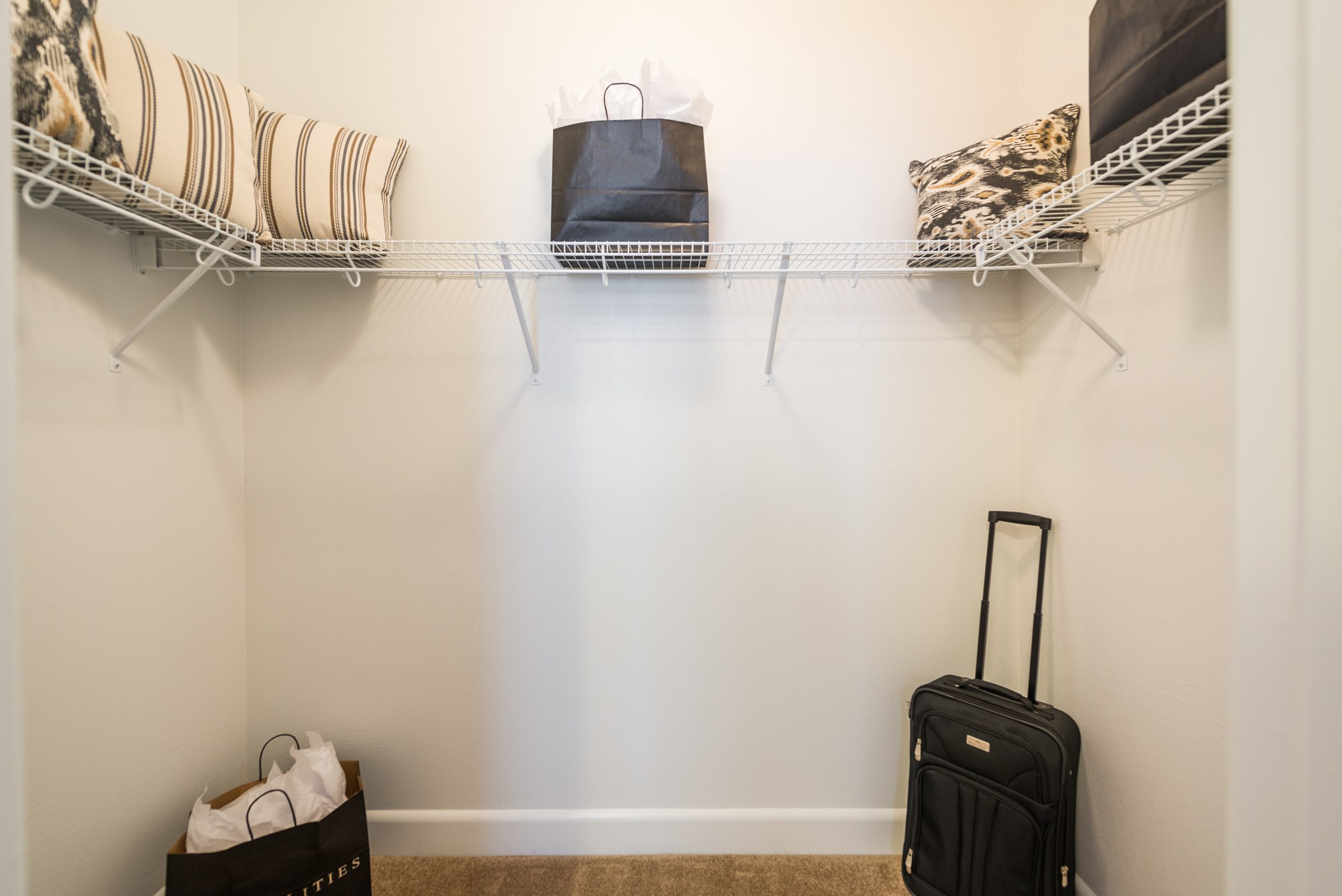 Walk-In Closet at Estate at Woodmen Ridge Apartments in Colorado Springs, CO