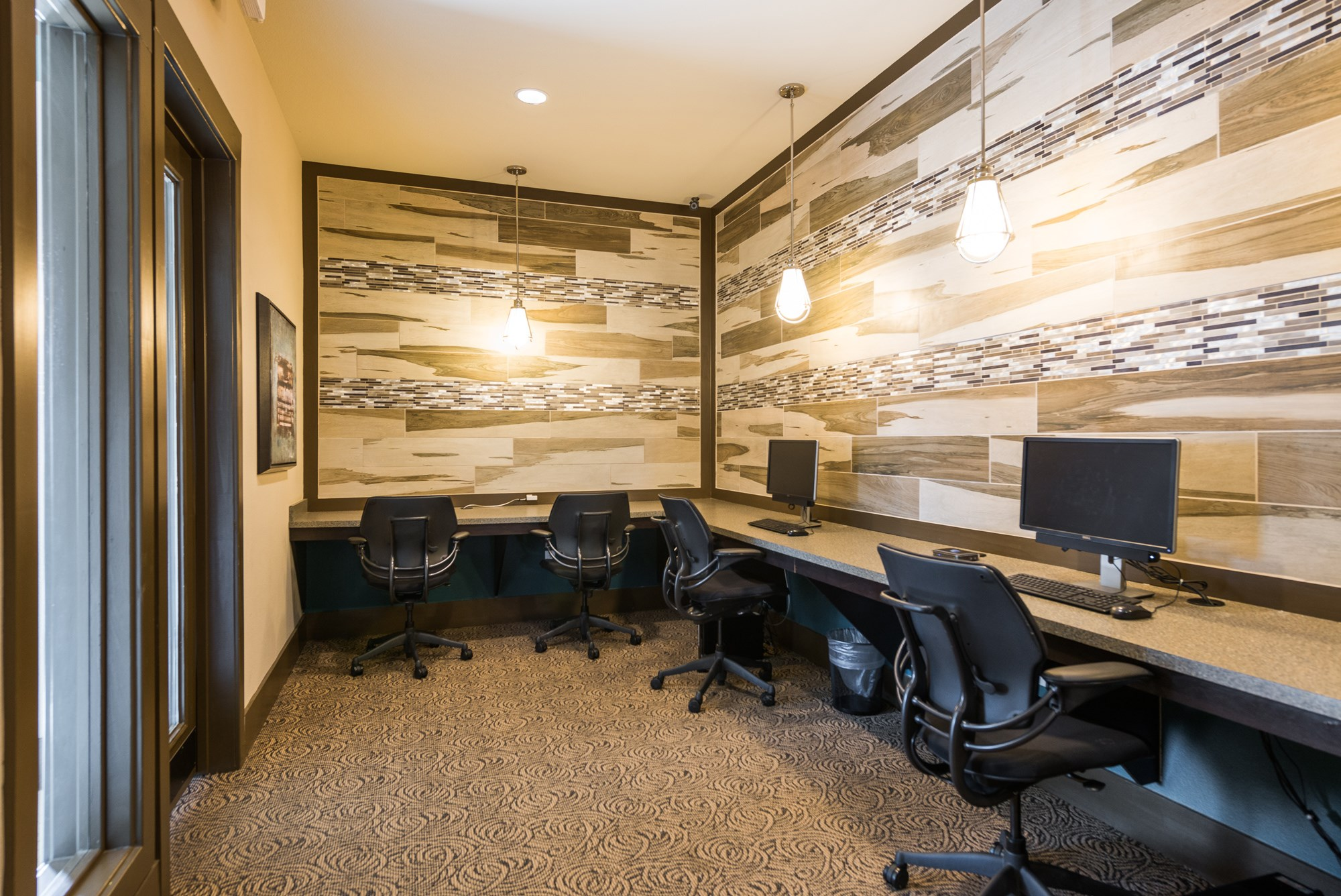 Business Center at Estate at Woodmen Ridge Apartments in Colorado Springs, CO