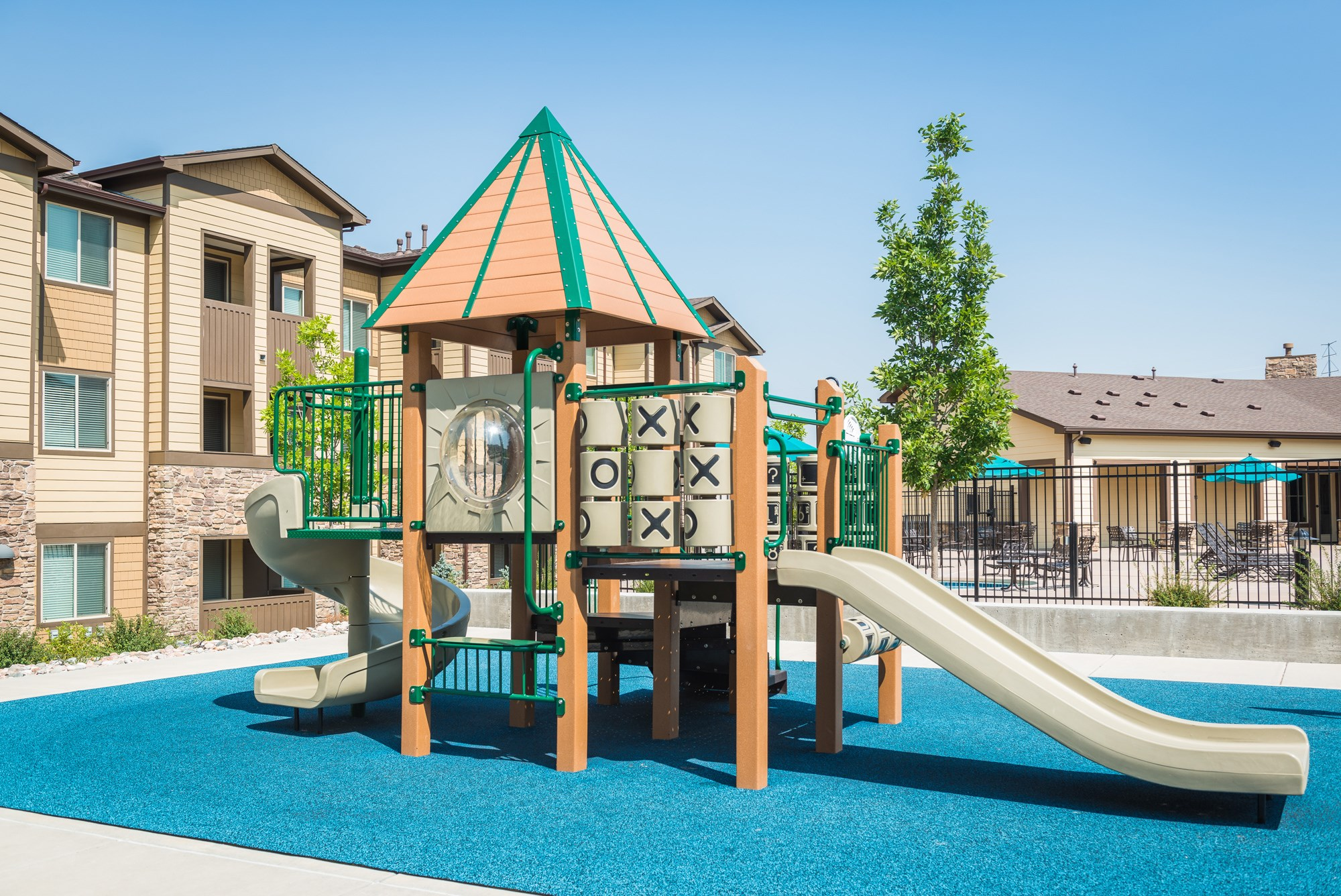 Playground at Estate at Woodmen Ridge Apartments in Colorado Springs, CO