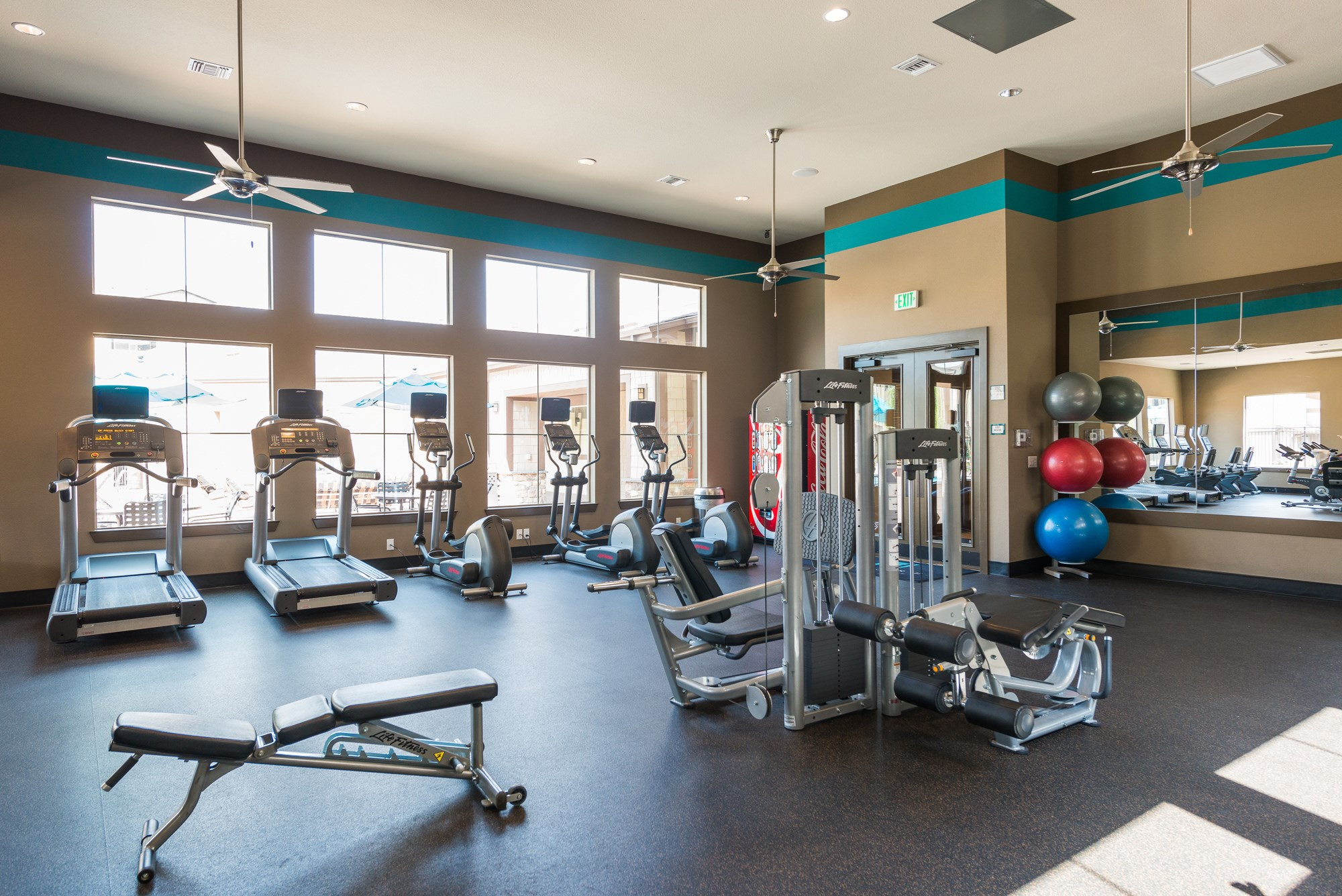 Fitness Center at Estate at Woodmen Ridge Apartments in Colorado Springs, CO