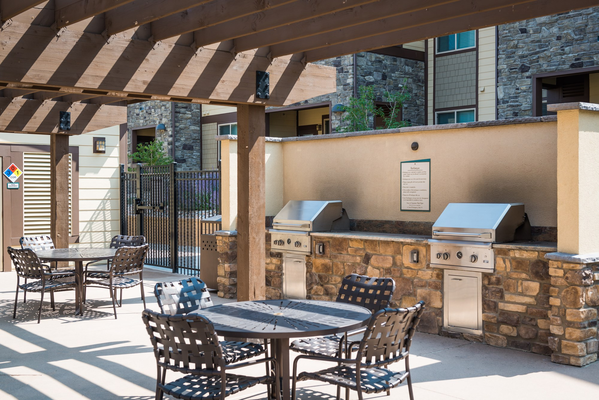 Grills at Estate at Woodmen Ridge Apartments in Colorado Springs, CO