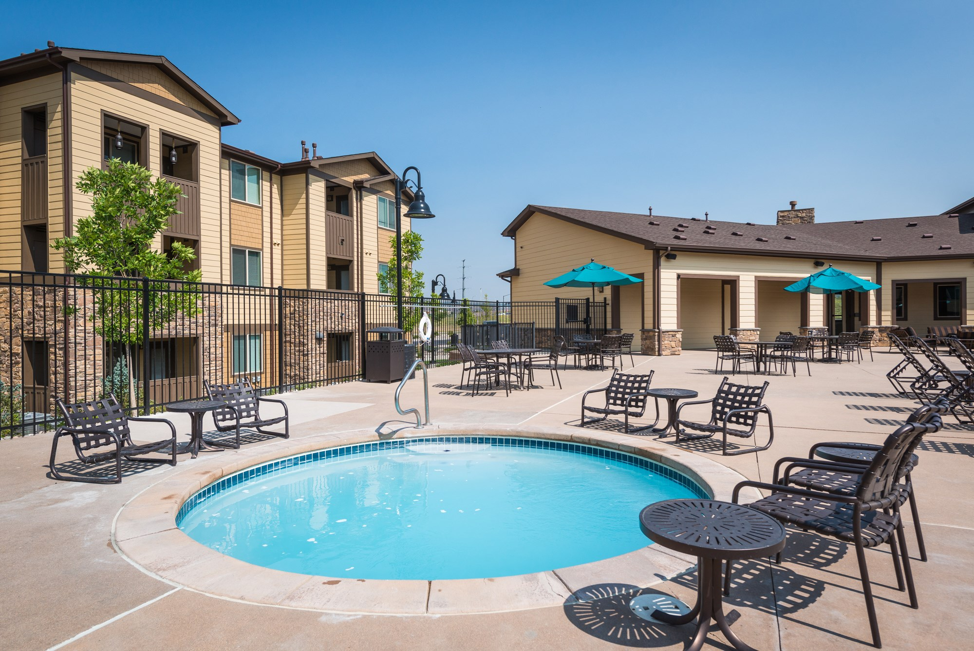 Hot Tub at Estate at Woodmen Ridge Apartments in Colorado Springs, CO