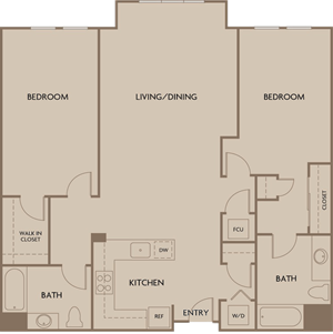 Flats - Two Bedroom