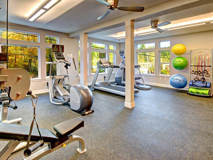 State-of-the-Art Fitness Center at Emerald Crest, Washington