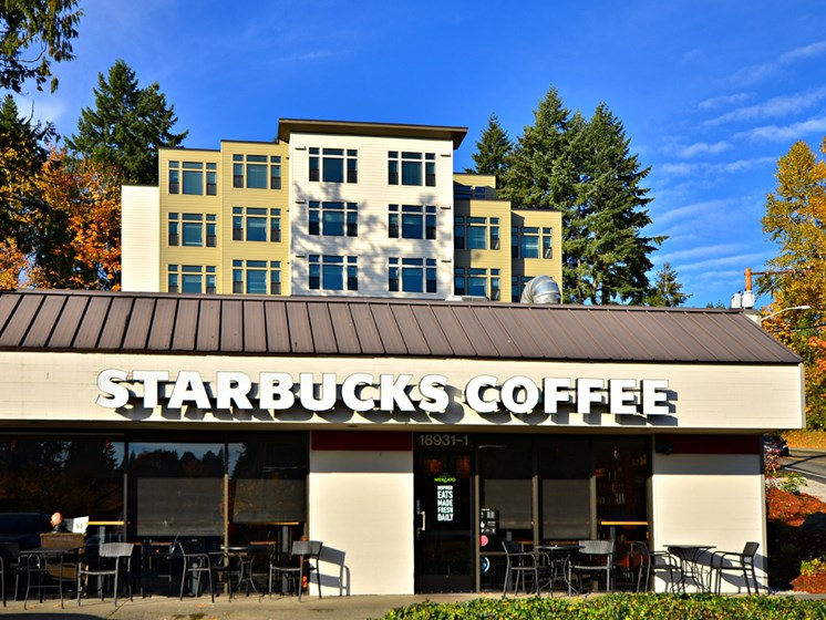 Starbucks Coffee Nearby at Emerald Crest, Washington