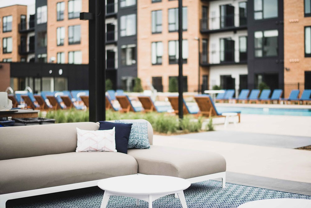 The Loden Apartments Lifestyle - Outdoor Lounge Area