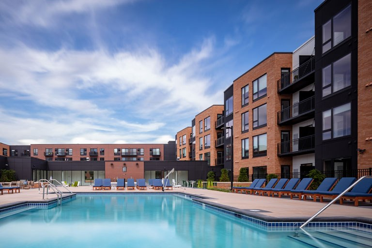 The Loden Apartments Lifestyle - Pool