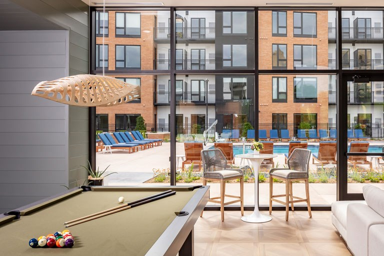 The Loden Apartments Lifestyle - Pool Table