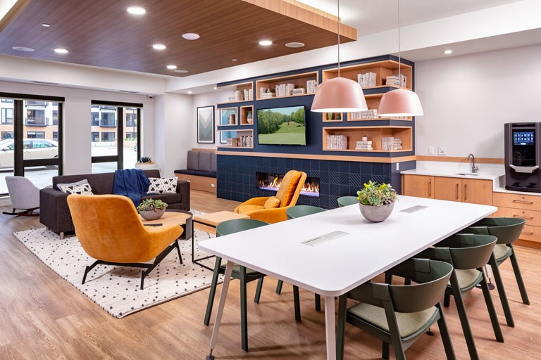 The Loden Apartments Lifestyle - Co-Working Space