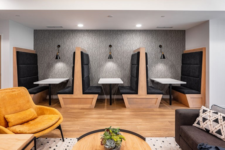 The Loden Apartments Lifestyle - Co-Working Space Booths